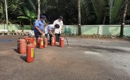 Bệnh viện huyện Nhà Bè Tổ Chức Tập Huấn Phòng Cháy Chửa Cháy Năm 2021