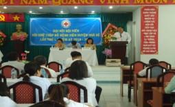 Đại hội hội viên Hội Chữ Thập Đỏ bệnh viện huyện Nhà Bè