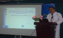Bệnh viện huyện Nhà Bè tập huấn Quy tắc giao tiếp ứng xử